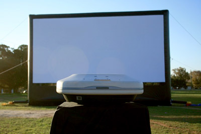 large projection screens If you want to go big in your home theater, you're probably arguing with yourself over whether to go with a really big tv, or a projector and screen on the one hand, projectors have gotten a .