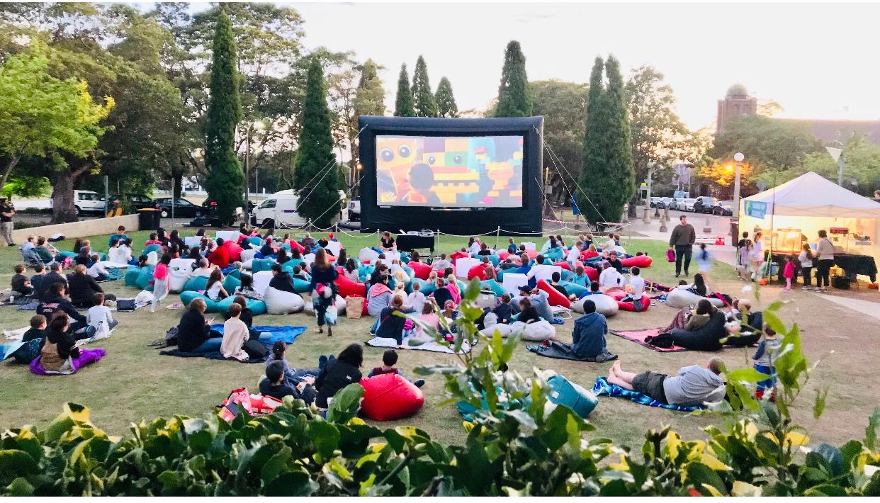 Movies by the Park
